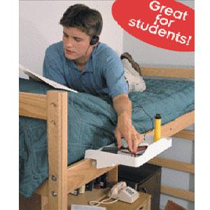 Bunk Or Loft Bed Self Bunk Buddy Tray 1 Bk Nationalfurnishing Com