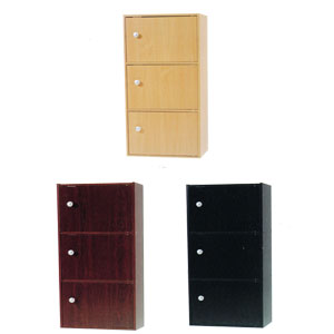 3-Shelf Bookcase With Doors 4216D_ (PJFS16)