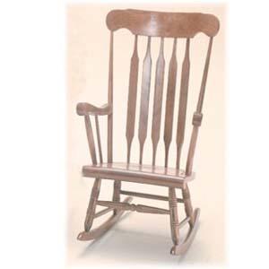 Solid Beechwood Rocking Chair CR-1212-K(BB)