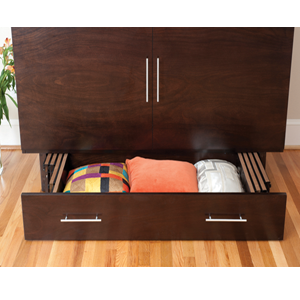 ZZZ Chest   Turns Easily Into A Bed: Queen Size Creden ZzZ Cabinet Bed 503  20 FUFS @ NationalFurnishing.com