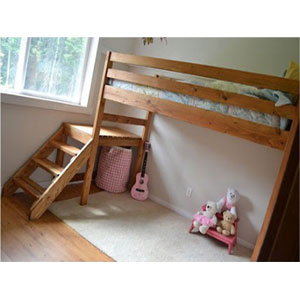 Custom Made Stairs For Loft Of Bunk Bed Custom Made All
