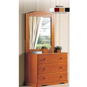 Solid Wood Single Dresser 542_(PIFS75)