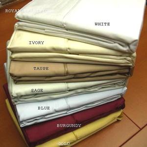 Solid Pair Pillow Cases 1000 TC 100% Egyptian Cotton e1000-p