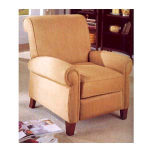 Pure Suede Tan Recliner F7728 (PX)
