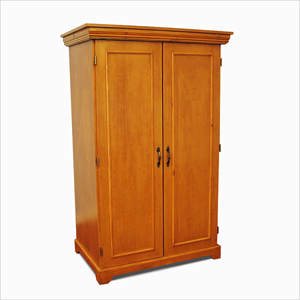 Amazing Solid Wood Wardrobe/Linen Closet 2 Doors GCC3(GH)
