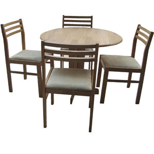 Solid Wood 5-Pcs Antigo Dinette Set hvantigocapp(HO)