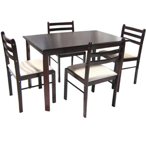Solid Wood 5-Pcs Dinette Set HV STARTER(HO)