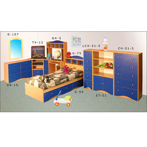 Juvenile Bedroom Set JBS-SET-26 (VF)