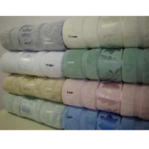 6-PC Grand Jacquard Towel Set Egyptian Cotton lin-6pc(RPT)
