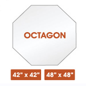 Octagon Glass Table Tops (SC)