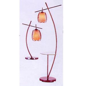 Black Chrome Table Lamp OK-9119TC (HT)