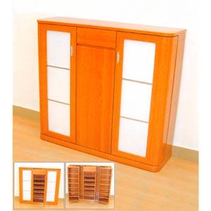 Light Cherry Shoe Cabinet SB 42BH (TH)