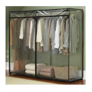 60 Inch Portable Storage Closet With Shoe Rack Nationalfurnishing Com