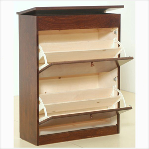 Solid Birch Wood Shoe Cabinet TZ27 B(GH)
