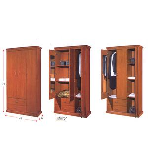 Solid Wood Wardrobe WD-833_(ALA)