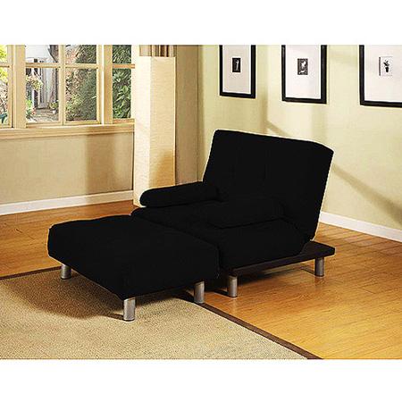 Manhattan Convertible Chair And Ottoman